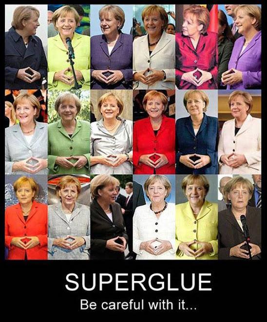 Cuidado com a supercola nos dedos!