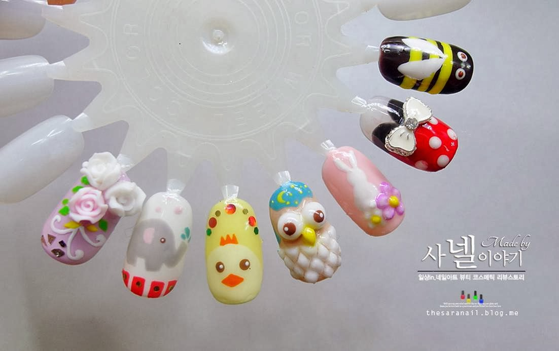 Cute Nail Designs Animals: Cute easy nail art designs for kids to do ...
