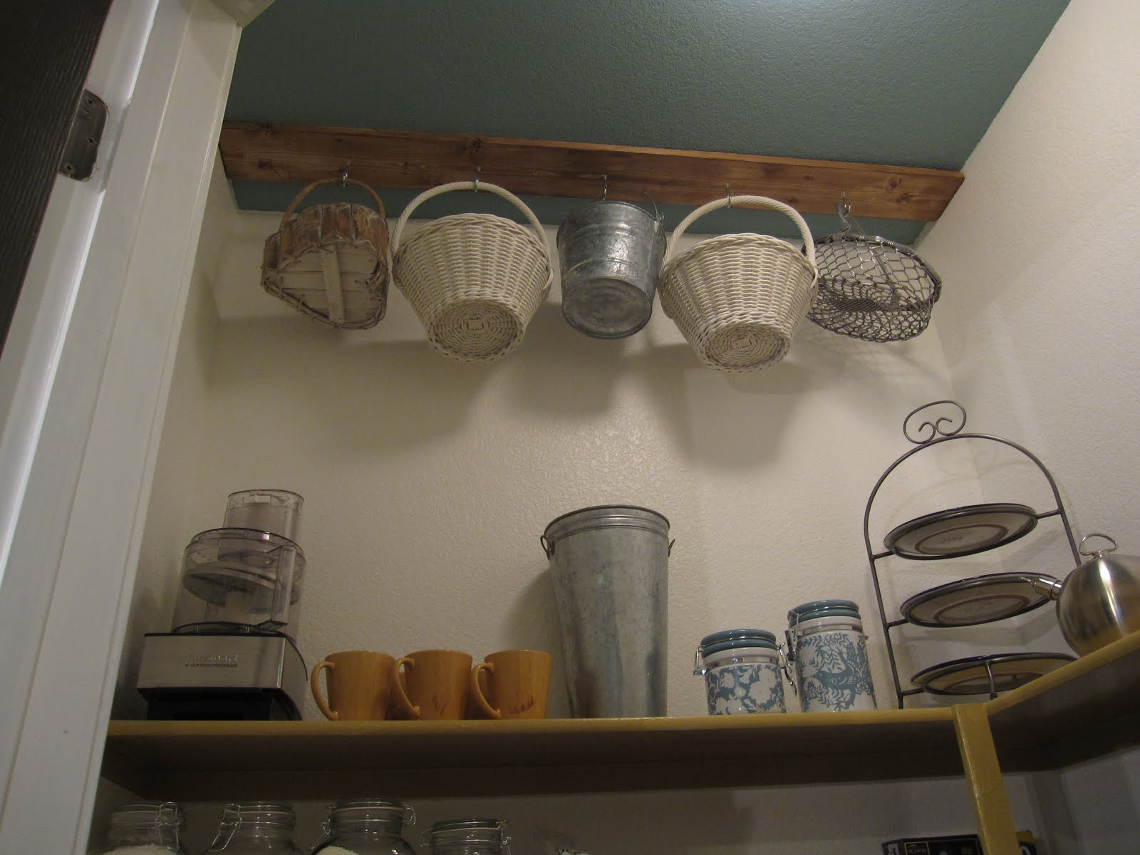 The decorating duchess pantry hooks for hanging storage