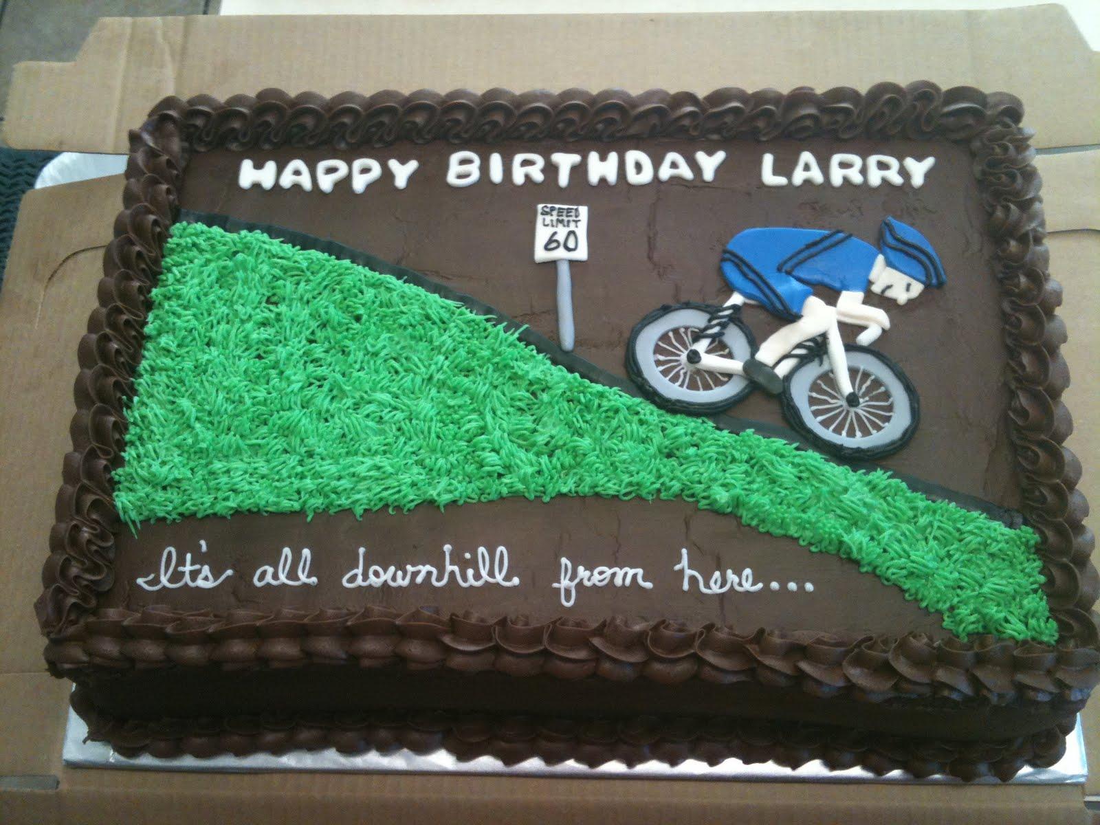 Cakes By Joanna Cyclist Birthday Cake