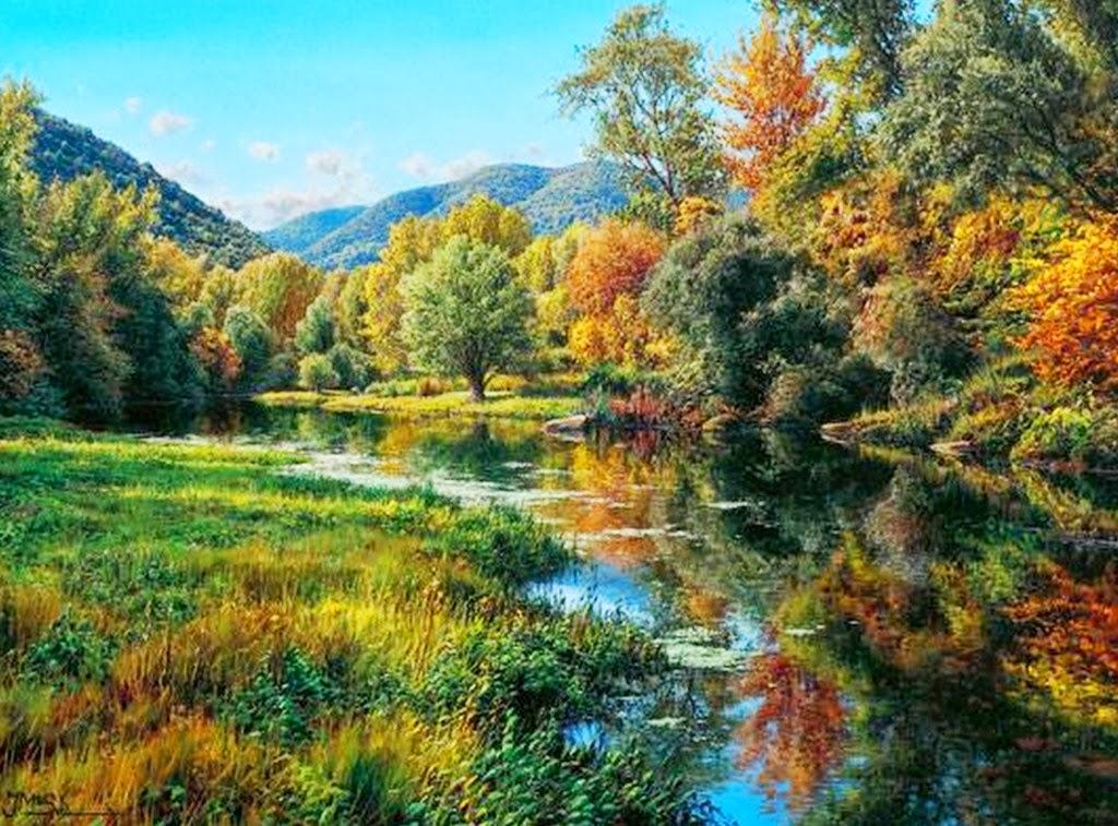 Im genes arte pinturas fant sticos paisajes naturales - Los cuadros mas bonitos ...