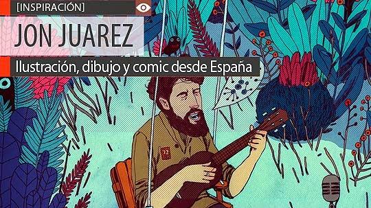 Ilustración, dibujo y comic de JON JUAREZ
