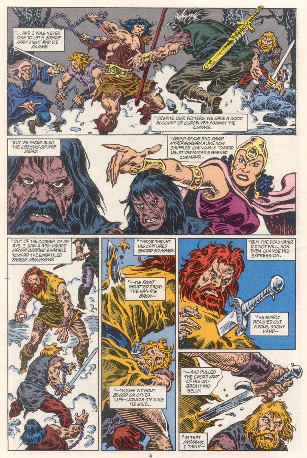 Conan the Barbarian (1970) Issue #254 #266 - English 5
