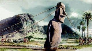 Teori Patung Moai berpindah tempat