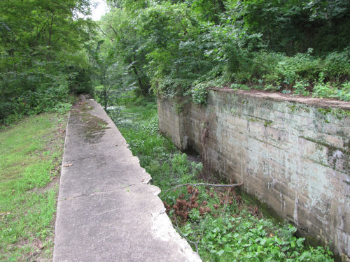 Ohio & Erie Canal Trail lock
