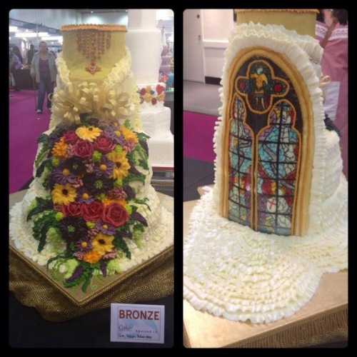Cake Decorating Store New Westminster : ProudPinoy: Pinays win bronze in London cake competition