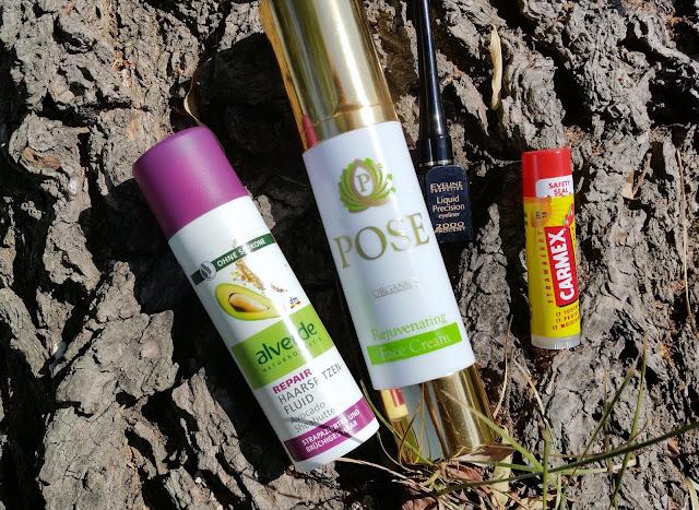 Kosmetyczne buble | Sierpień 2015 | Carmex, Pose, Eveline, Alverde