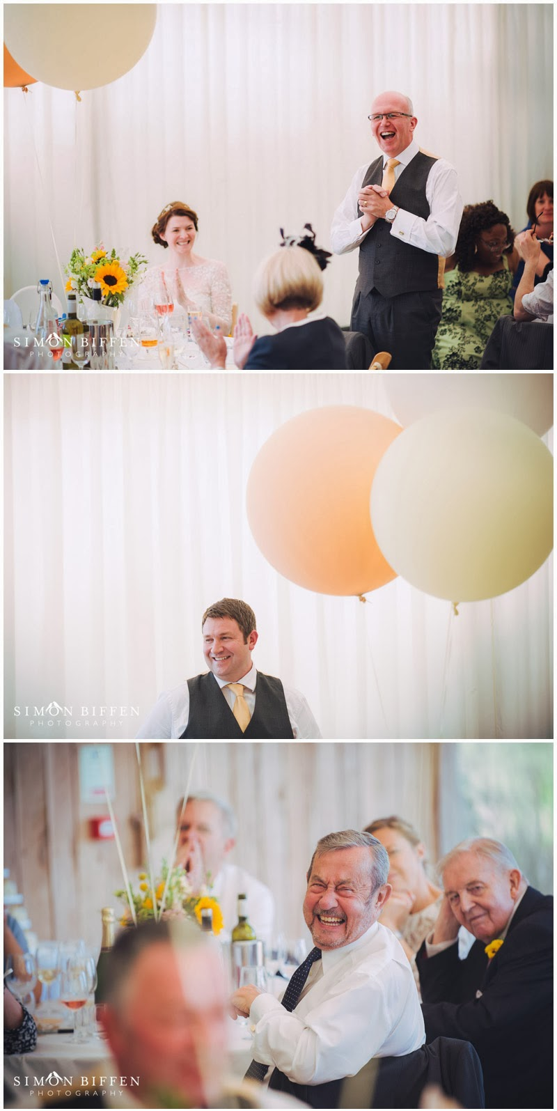 Wedding speeches at Trevenna Cornwall