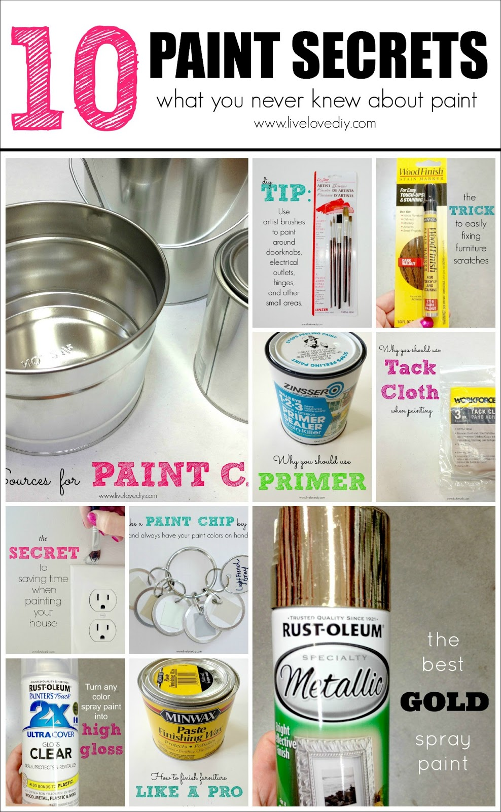 10 Painting Tips   Tricks You Never Knew  Part Two. LiveLoveDIY  10 Painting Tips   Tricks You Never Knew  Part Two