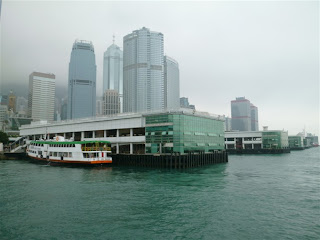 star ferry pier, Victoria Harbor