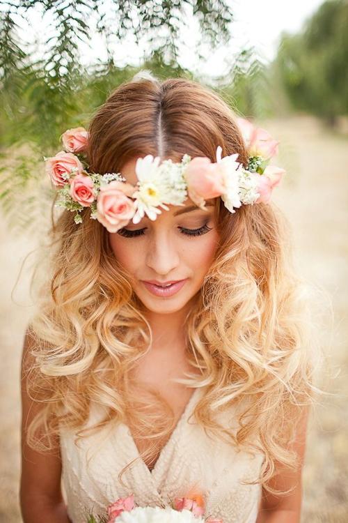 Peinado ondas invitada boda