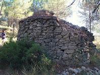 La part nord de la segona barraca de vinya