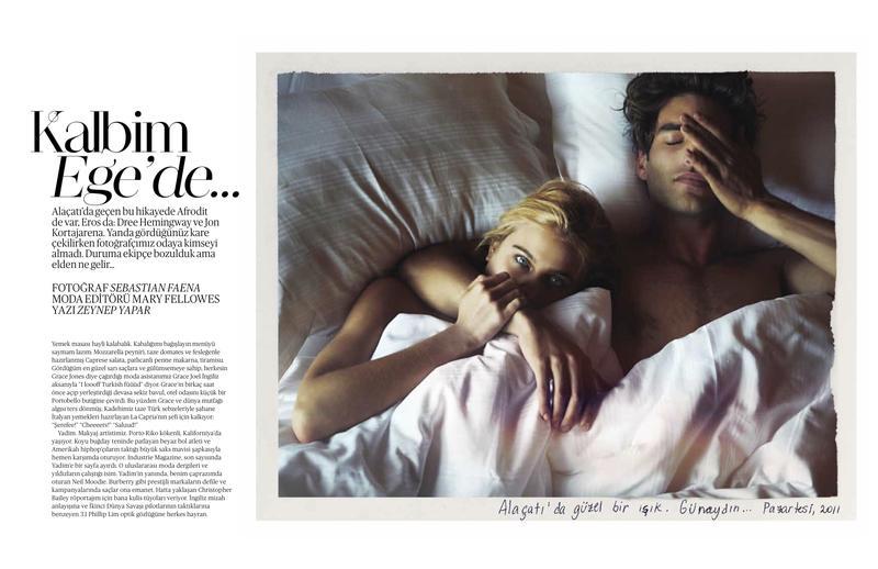 Jon Kortajarena: Vogue by Sebastián Faena