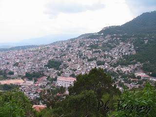 Paysages du Mexique Taxco ville coloniale argent blog voyage photos