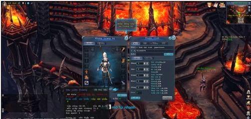 Hình ảnh về giao diện nhân vật