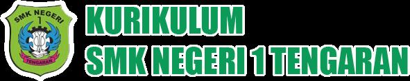 KURIKULUM SMK N 1 TENGARAN