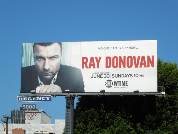 Ray Donovan series premiere billboard