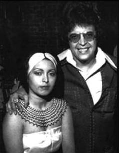"""Hector Lavoe Junto a su Esposa Nilda """"La Puchi"""""""