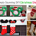 21 Simply Stunning DIY Christmas Stockings