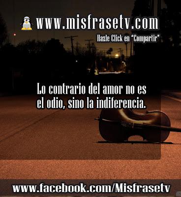 Carteles con Frases de Indiferencias para Facebook y Twitter