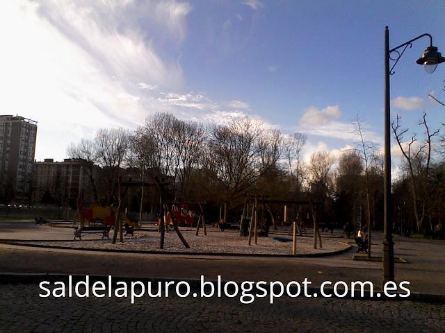 Parque Isabel la Católica Gijón.