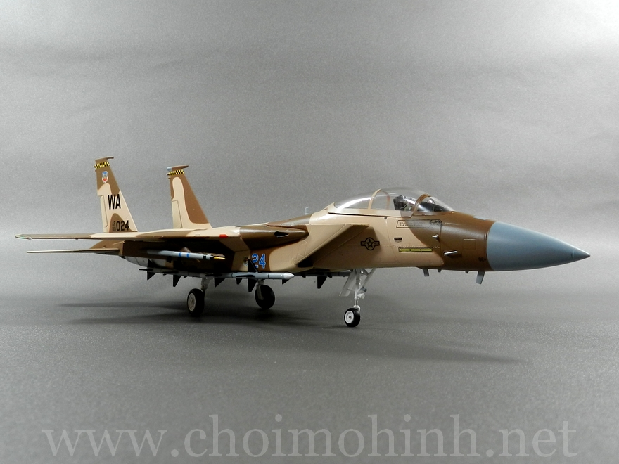 F-15C Eagle Aggressor USAF 1:72 Witty Wings