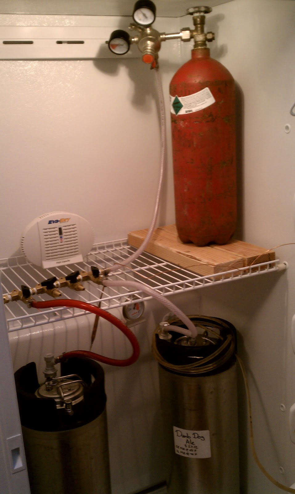 how to build a kegerator from a freezer
