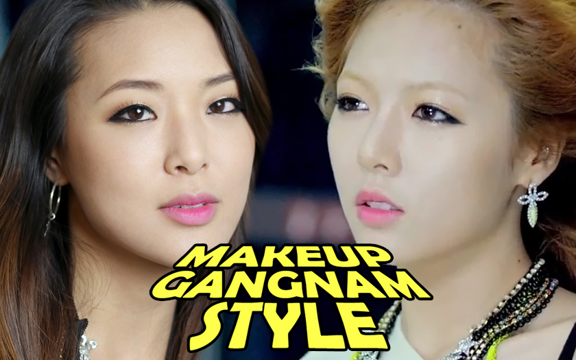 Hyuna quot gangnam style quot makeup tutorial from head to toe