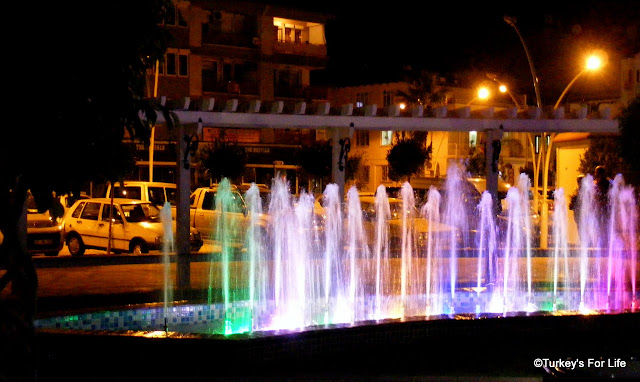 Fountain Displays, Fethiye Town Square