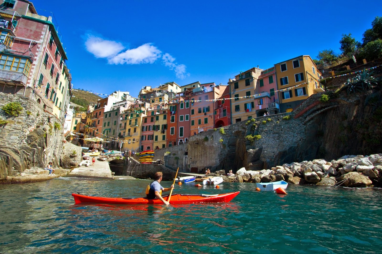 Kayaking Cinque Terre and Liguria