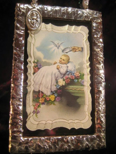 Stained GlassBaptism Keepsake