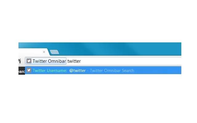 Twitter Omnibox