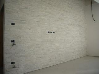 Gabbatore mattia rivestimento parete rivestimento pietra quarzite - Posa piastrelle cucina ...