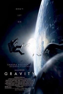 Gravity 2013 poster