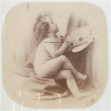 Study of a nude child by Oscar Rejlander, c. 1880s.