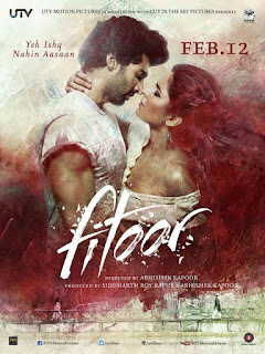 Fitoor New Bollywood Movie of Aditya Roy Kapoor and Katrina Kaif HD Poster