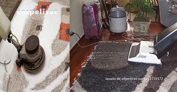 lavado de alfombras sueltas