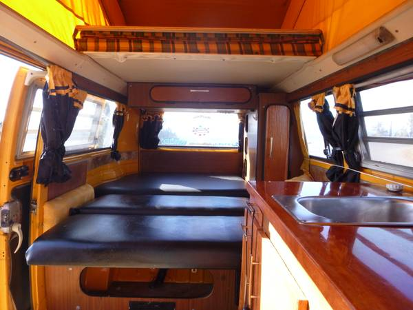 Used rvs vw westfalia van for sale for sale by owner for Interior westfalia