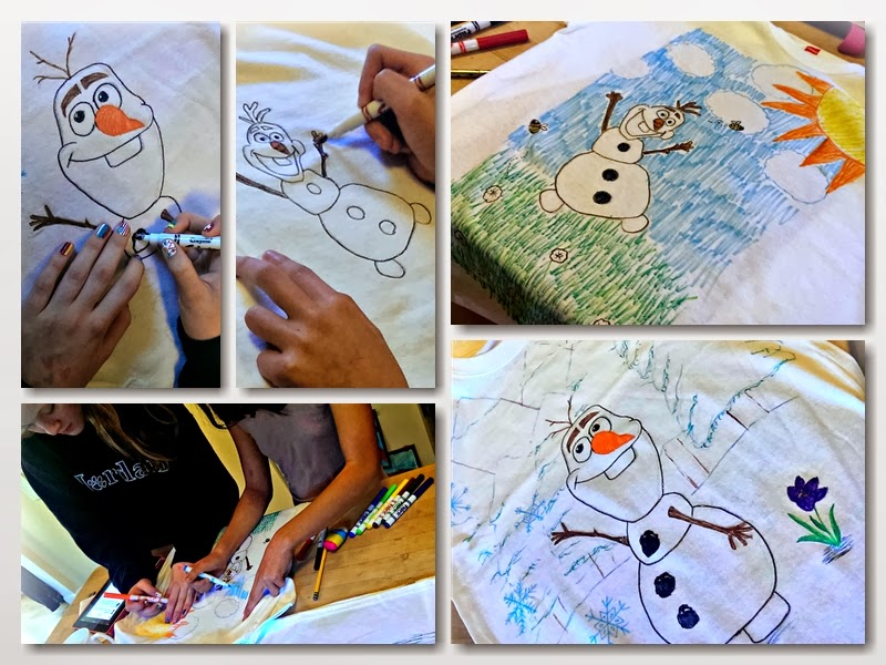 #DisneySide @Home celebration: Frozen's Olaf t-shirts