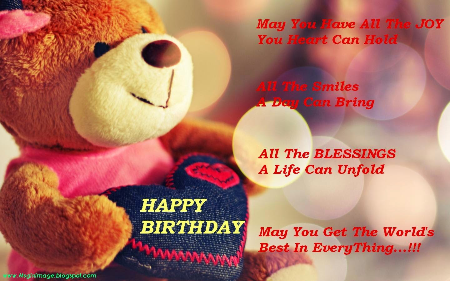 Best All In One Quotes: Happy Birthday Quotes And Wishes For ...