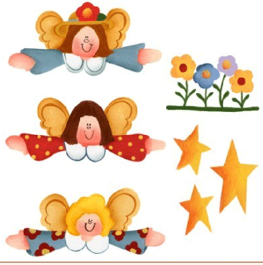 detalles de angeles para decorar