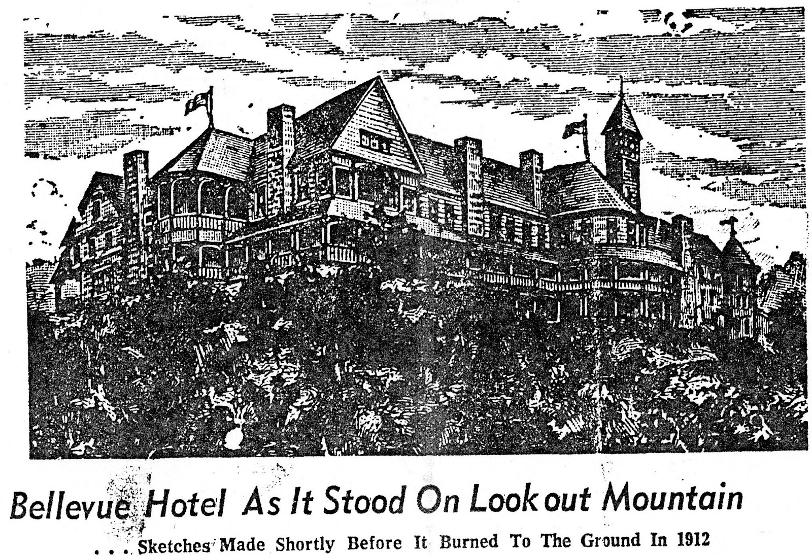 Gilded Age Atlanta The Bellevue A Hotel In Gadsden Alabama