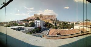 L'Acropoli di Atene dal museo archeologico, Grecia (foto ap)