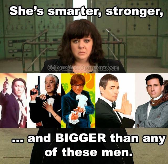 Melissa McCarthy Spy movie meme