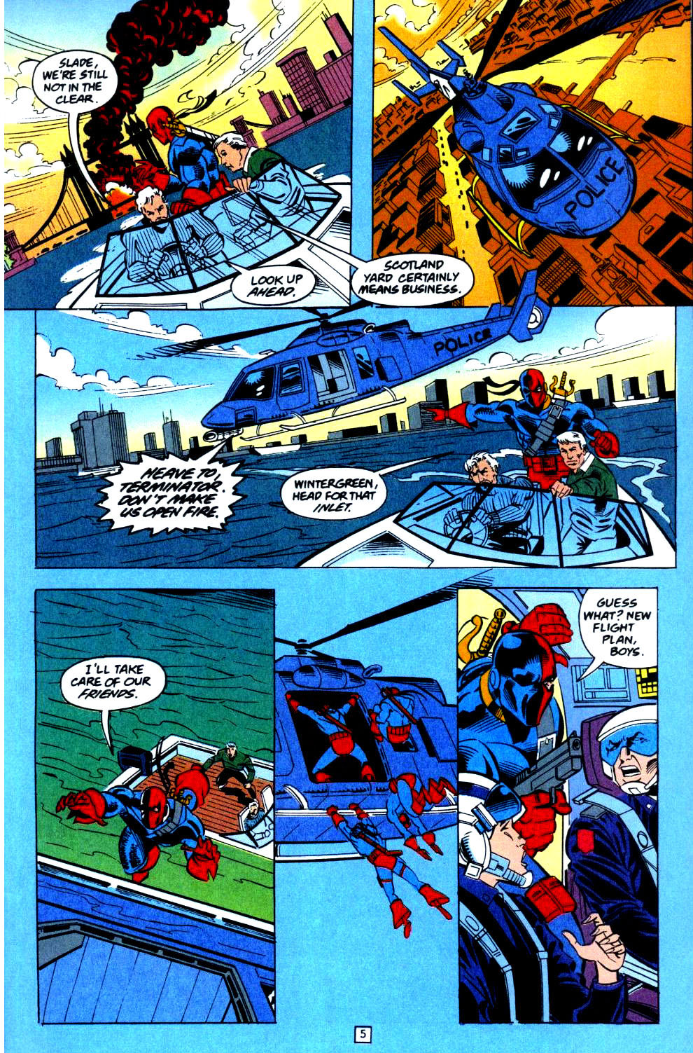 Deathstroke (1991) Issue #36 #41 - English 6