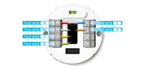 custom wiring diagrams for nest thermostat readingrat net nest thermostat wiring diagram at metegol.co