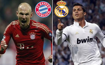 Bayern Monaco Real Madrid streaming