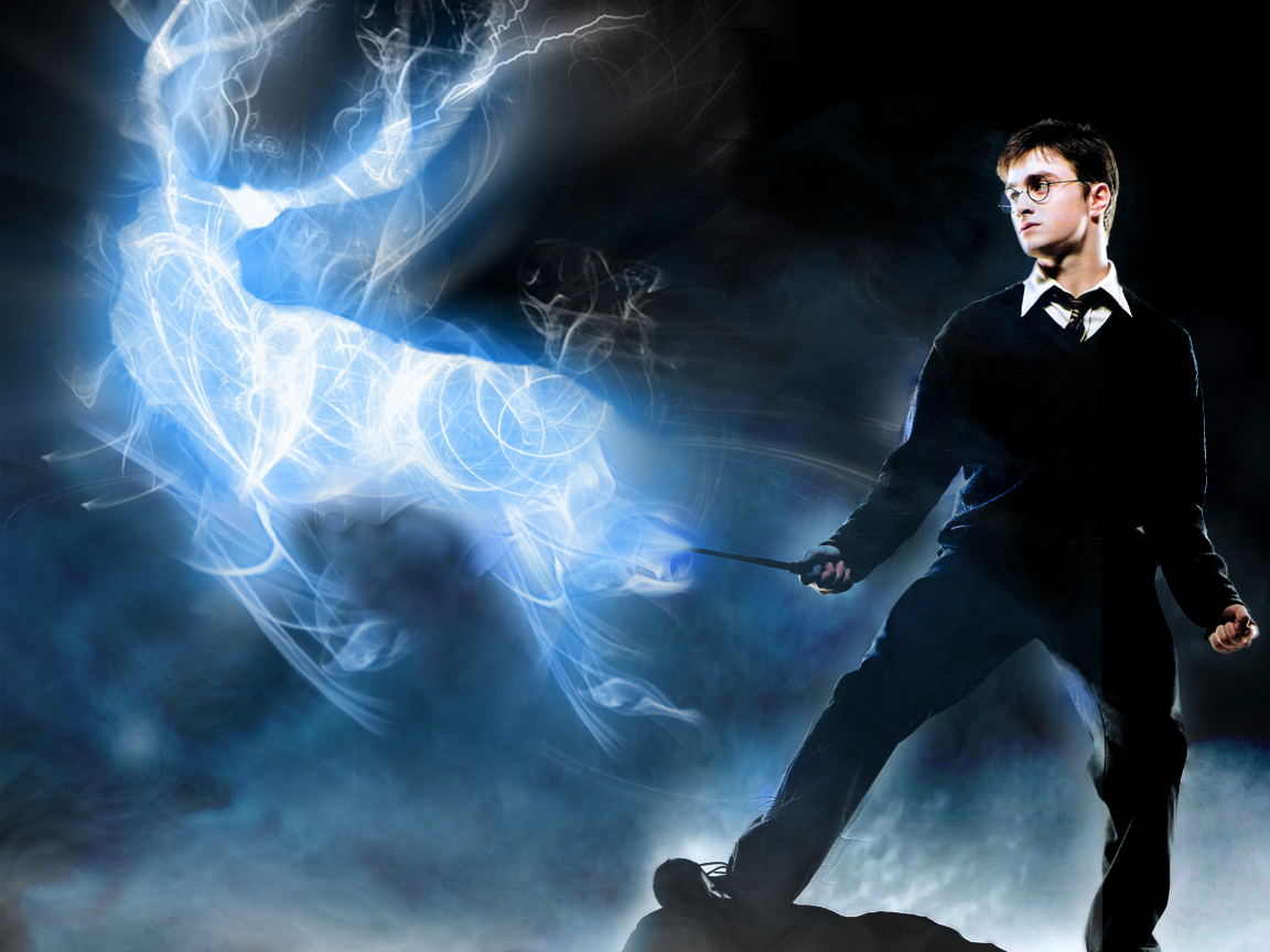 patronus charm The patronus is the most famous (and famously difficult) defensive charm the aim is to produce a silvery-white guardian or protector, which takes the form of an animal the exact form of the patronus will not be apparent until the spell has been successfully cast one of the most powerful defensive charms known to.