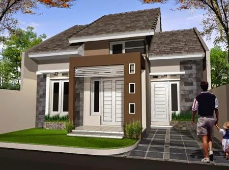 contoh desain rumah idaman, model rumah idaman