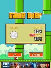 Kesal dan Kecanduan Gara-gara Flappy Bird
